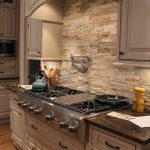Faux Stone Backsplash Kitchen Clean Your Creative Panels Glamorous