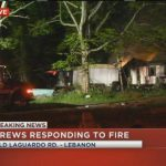Fire Spreads Mobile Homes Wilson County Kptv