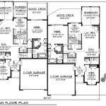 First Floor Plan Bungalow Multi Homes Pinterest