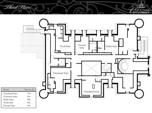 Floor Plans Chateau Cocomar