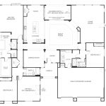 Floor Plans Single Level Homes New Floorplan Bedrooms Bathrooms Square