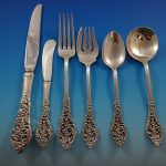 Florentine Lace Reed Barton Sterling Silver Flatware Service Set Pcs World