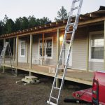 Gravy Front Porch Being Built Onto Double Design Mobile