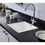 Great Acrylic Kitchen Sinks Encore White Single Bowl Sink Home Design