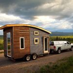 Green Design Keeps Tiny Mobile Home Warm Canada Below Freezing Winters