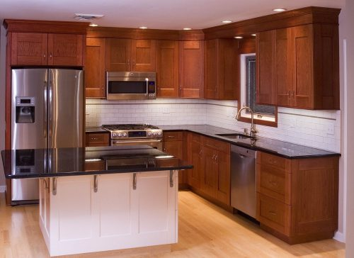 Hand Made Cherry Kitchen Cabinets Neal Barrett Woodworking