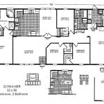 Home Remodeling Double Wide Mobile Floor Plans Master