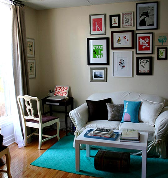 Ideas Small Spacesinspiration Kims Great Space Apartment Therapy