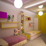 Kids Room Decorating Ideas Young Boy Girl Sharing One