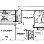 Legacy Housing Double Wides Floor