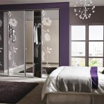 Master Bedrooms Purple Accents Home Design