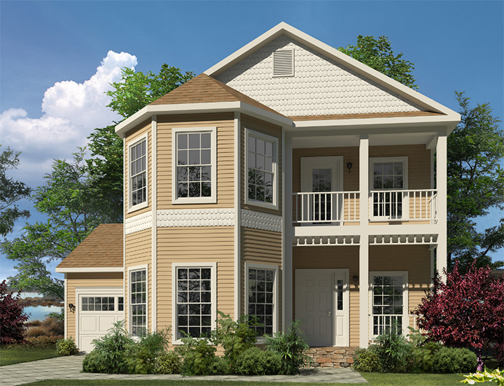 Mckenna Two Story Style Modular