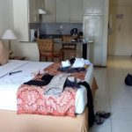 Messy Bedroom Savoy Park Hotel Apartments Dubai