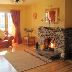 Millifield Sitting Room Fireplace Millfield Self Catering Home Kenmare Kerry