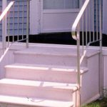 Mobile Home Aluminum Steps