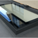 Mobile Home Skylights Modern Office Wood Panel Ceiling Skylight