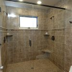 Modern Classic Walk Shower Without Doors