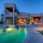 Modern Home Architect Cool Swimming Pool Yard Contemporary Open House