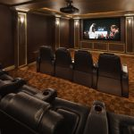 Modern Marvel Traditional Home Theater New York Creative Design Construction