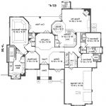Modern Ranch Home Floor Plans House Split Bedroom Plan Master