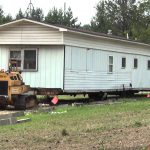 Moving Trailer House