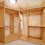 Natural Brown Maple Ikea Wardrobe Designer Small Walk Closet Design Ideas Beige Solid