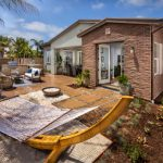 New Homes Luxurious Outdoor Living Spaces