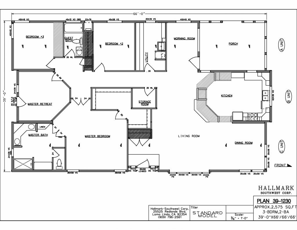 New Mobile Home Floor Plans Archives