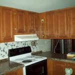 Painting Mobile Home Kitchen