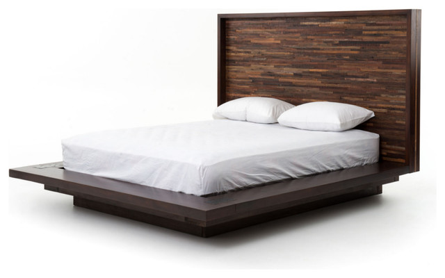 Parker Platform Bed Queen Contemporary Beds Marco Polo