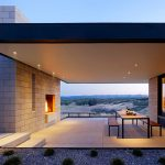Passively Cooled House Outdoor Living