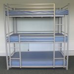 Person Bunk Bed Cheap Metal Triple Beds Sale