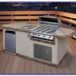 Prefab Outdoor Kitchen Grill Islands Set Home Decorating Ideas