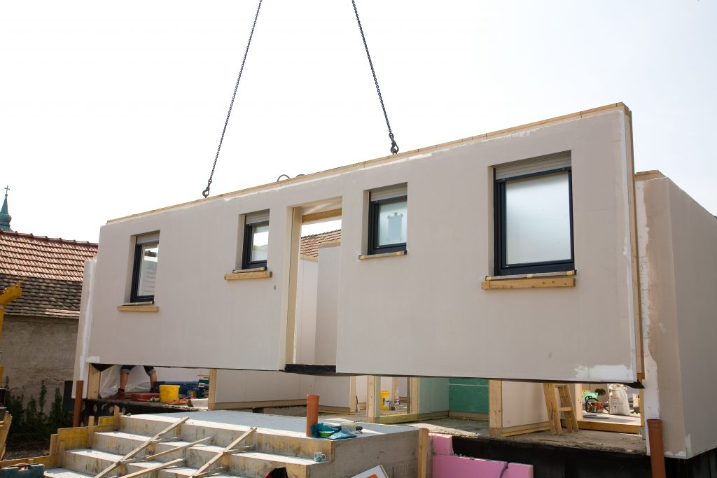 Prefabricated House Palmatin Wooden