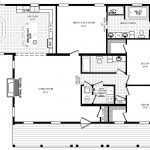 Rosewood Ranch Style Modular Home Floor