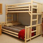 Rustic Cool Double Beds Bunk Bed Design Natural Wood Frames Also Twin Lion