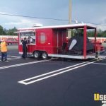 Sale Used Bbq Concession Trailer Florida Mobile