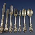 Scala Gorham Sterling Silver Flatware Service Set Pieces World