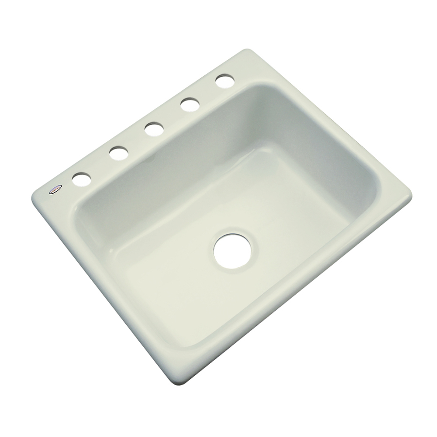 Shop Dekor Master Single Basin Drop Acrylic Kitchen Sink