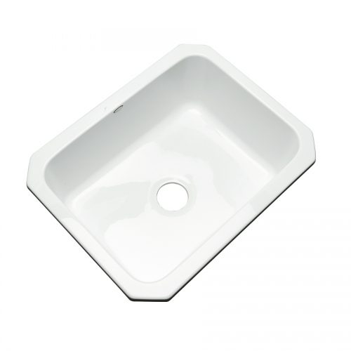 Shop Dekor Master Single Basin Undermount Acrylic Kitchen Sink