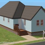 Shotgun House Starter Home Sims