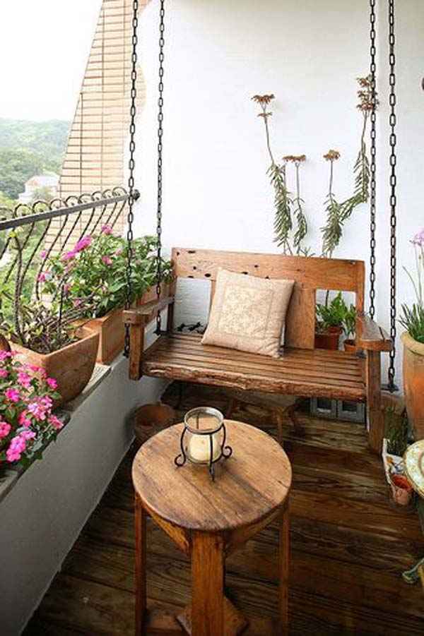 Small Furniture Ideas Pursue Your Balcony Homesthetics
