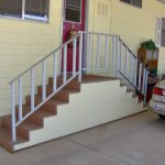 Stairs Choosing Right Mobile Home Digging Holes Also