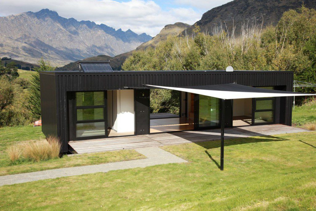 Steel Frame Transportable Prefab Home Bachbox New Zealand Modern Modular