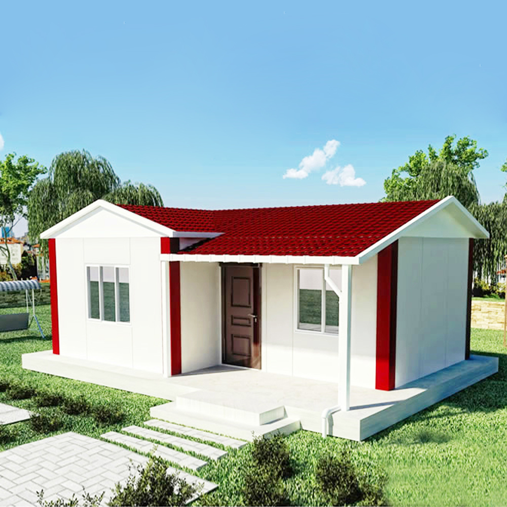 Steel Prefabricated Modular Homes Yzf Container