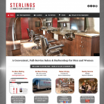 Sterlings Mobile Barber Salon Shave Cut Comes Wedding