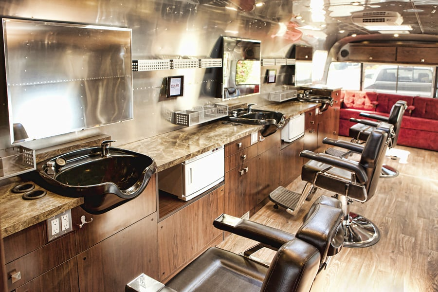 Sterlings Mobile Salon Barber Photos Hair Salons University City San