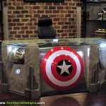 Super Punch King Kong Themed Home Theater Avengers Desk Hoth Cave Dog
