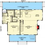 Three Bed Country Home Plan Two Master S Floor