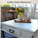 Thrift Store Decor Upcycle Coffee Table